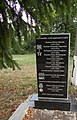 Mass grave of Soviet soldiers and memorial sign to compatriots in Shevchenkove settlement, Kharkiv Oblast by Venzz 34.jpg