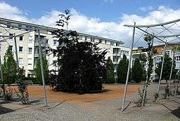 Mathilde-Otto-Platz in Freiburg im Breisgau