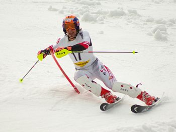 Austrian alpine skier Matthias Mayer during th...