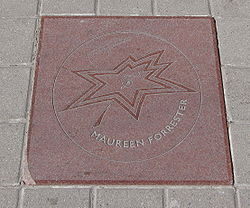 Maureen Forrester star on Walk of Fame.jpg