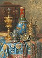 Max Schödl - Still Life with Antiques and a Chinese Cloisonné Vase.jpg
