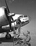 Mechanics, Lockheed Hudson AT-18A, Pepperell Manufacturing Company (11179235346).jpg