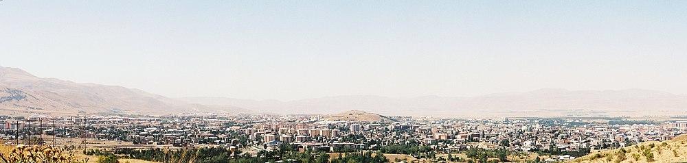 Mecidiye Tabyasından Erzurum Panoramik Görüntüsü.