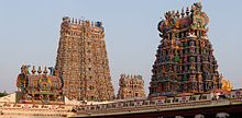 Meenakshi Amman West Tower.jpg