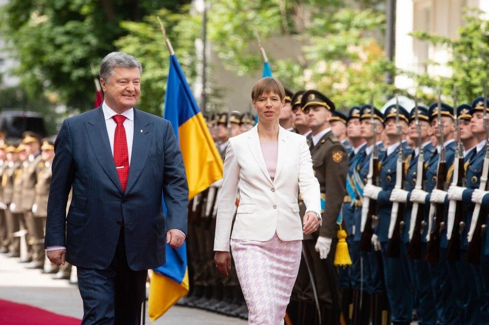 Meeting between the President of Ukraine and the President of Estonia began 01