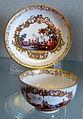 Meissen, 1730-1740 circa, tazzine e piattini 02.JPG
