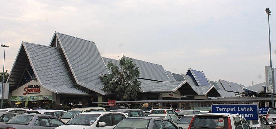 Melaka Sentral main building