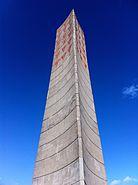 Memorial obelisk at Sachsenhausen Concentration Camp