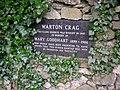 Memorial plaque, Warton Crag - geograph.org.uk - 1586563.jpg