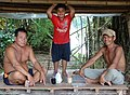 Men and Boy at Rest - Koh Trong Island - Mekong River - Kratie - Cambodia (48392961996).jpg