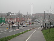 Mercian Way's Junction with Abbey Street