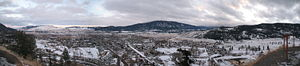Merritt, British Columbia - Merritt in winter