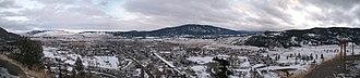 Merritt, British Columbia - Merritt in winter