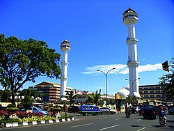 The Grand Mosque of Bandung, capital of West Java.