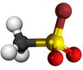 Methanesulfonyl bromide3D.png