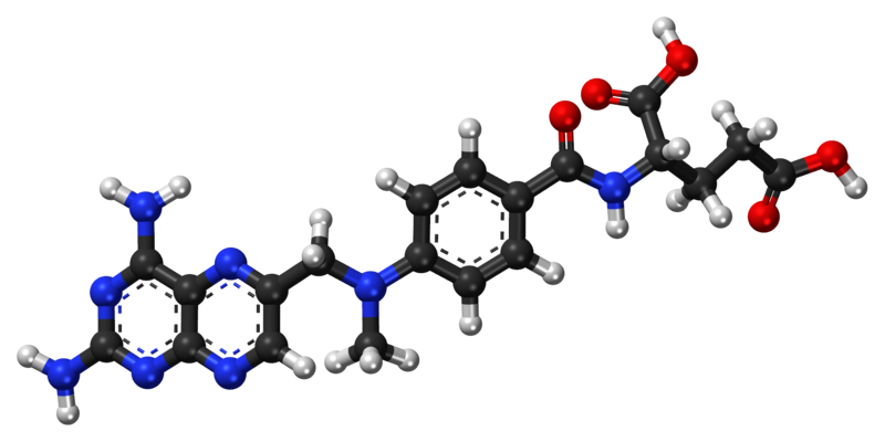 File:Methotrexate ball-and-stick model.png