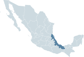 Mexico map, MX-VER.svg