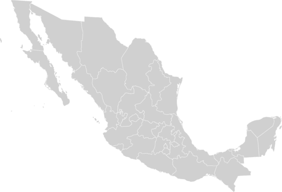 Mexico states blank.png