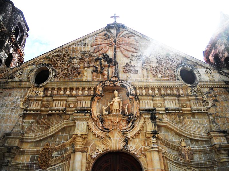Файл: Miagao Church фасад.png