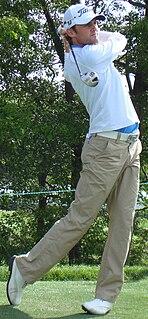 Michael Sim Australian professional golfer