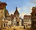 Michael Neher - Das Iller Tor in Kempten (1842).jpg