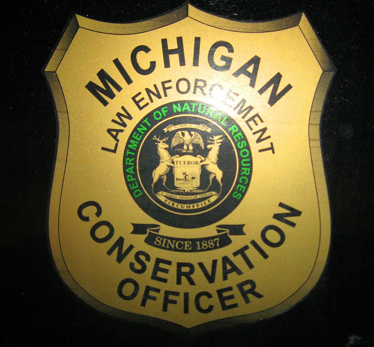 conservation officers Two michigan department of natural resources conservation officers have received lifesaving awards for rescuing two people involved in a january snowmobile accident.