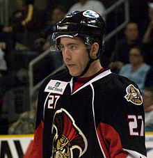 Description de l'image Mike Hoffman Binghamton Senators 27.jpg.
