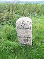 Milestone near Askerswell - geograph.org.uk - 1447260.jpg