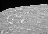 Mimas limb sharp