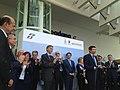 Ministro infrastrutture trasporti maurizio lupi inaugura stazione tav reggio emilia (8988703784).jpg