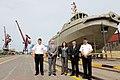 Ministros de Defensa de Perú y Ecuador, visitan las instalaciones del SIMA-Callao (8511346520).jpg