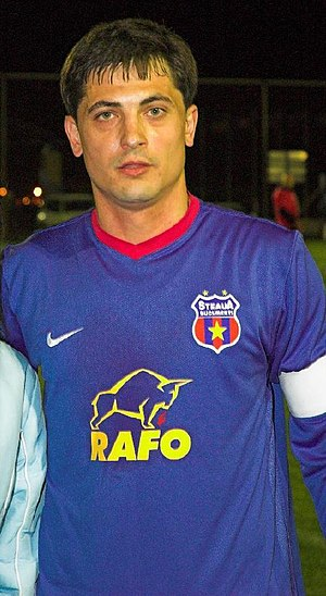 Mirel Rădoi - Rădoi with Steaua in 2007