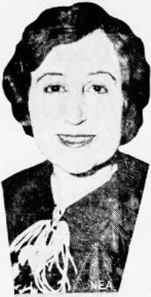 Geneve L. A. Shaffer - Geneve Shaffer, Shamokin News-Dispatch, 1934
