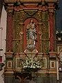Mission San Carlos Borromeo de Carmelo (Carmel, CA) - basilica interior, reredos, the Blessed Virgin Mary.jpg