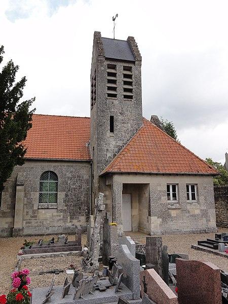 Missy-aux-Bois (Aisne) église