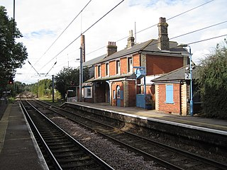 Mistley railway station