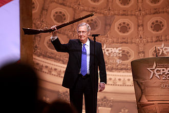 Mitch McConnell - McConnell at the 2014 Conservative Political Action Conference (CPAC) in National Harbor, Maryland