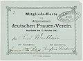 Mitgliedskarte Allgemeiner deutscher Frauenverein 1892.jpg