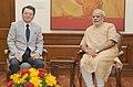 Mitsubishi Corporation CEO meets PM Modi.jpg