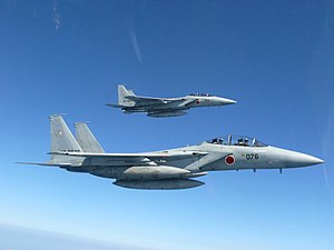 201st Tactical Fighter Squadron (JASDF) - 201 Sqn Mitsubishi F-15DJs