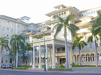 Hawaiian architecture - Opened in 1901, the Moana Hotel is a model for contemporary Hawaiian architectural design