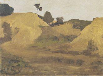 Weyerberg - Sand pit at the Weyerberg by Paula Modersohn-Becker, 1899