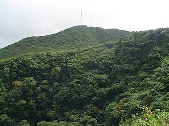 Mombacho - Image: Mombacho crater