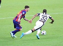 Лионель Месси во время матча против «Ювентуса» в финале Лиги чемпионов. 065552dbdad99