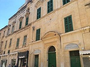 Monte di Pietà (Malta) - Image: Monte di Sant' Anna with later joined houses