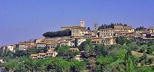 Montescudaio - Image: Montescudaio panoramica