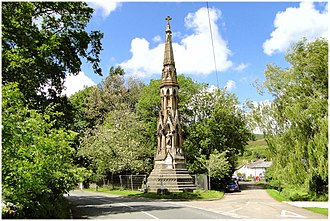 George Cornewall Lewis - Monument near New Radnor
