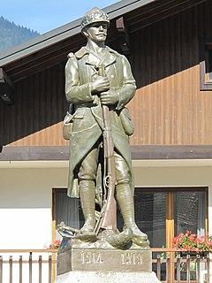 Châtillon-sur-Cluses Commune in Auvergne-Rhône-Alpes, France