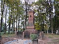 Monument dedicated to those who were killed in the Lithuanian Wars of Independence in Giedraičiai, Lithuania.jpg