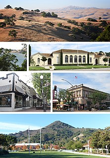 Morgan Hill, California City in California